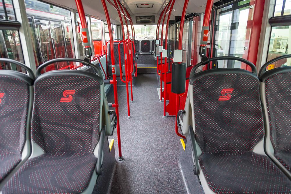 Pohled na nově řešený interiér přívěsů v Kostnici. (foto: MAN Truck & Bus)