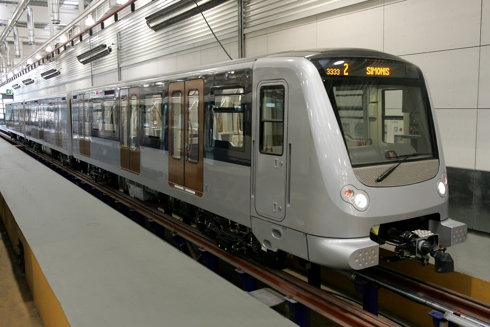 Jednotky metra CAF pro Brusel. (foto: CAF)