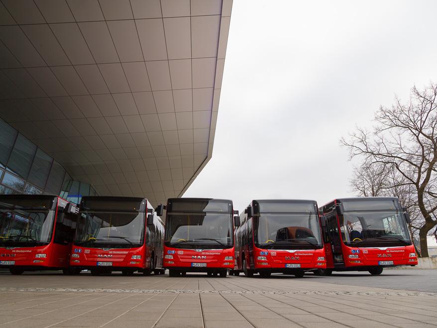 Autobusy MAN Lion's City pro DB. (foto: MAN Truck & Bus)