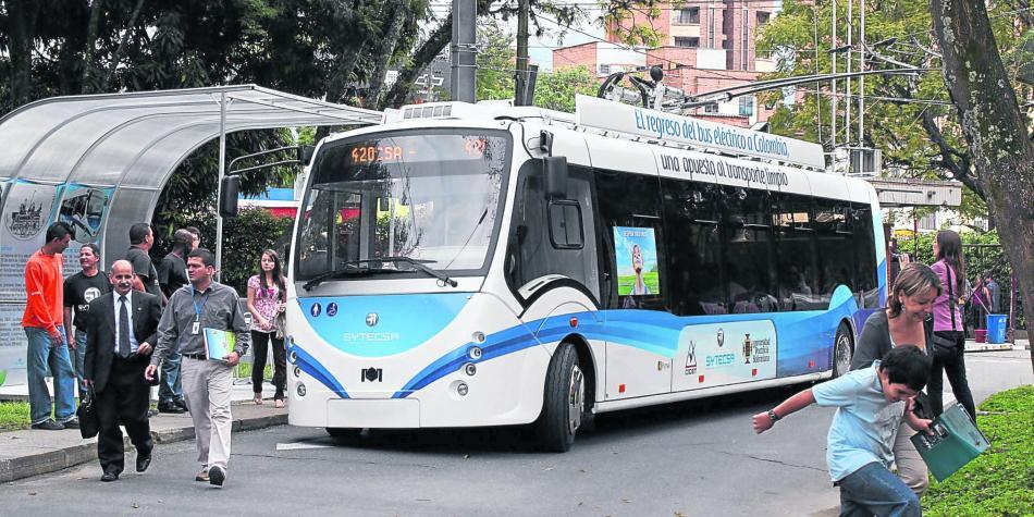 ...nicméně trolejbusový comeback se nakonec nekonal. (foto: archiv Alcaldía de Medellín)