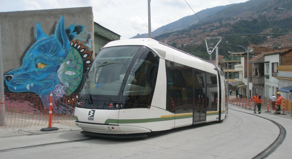 Tramvaj typu STE5 na zkouškách. (foto: Alstom)