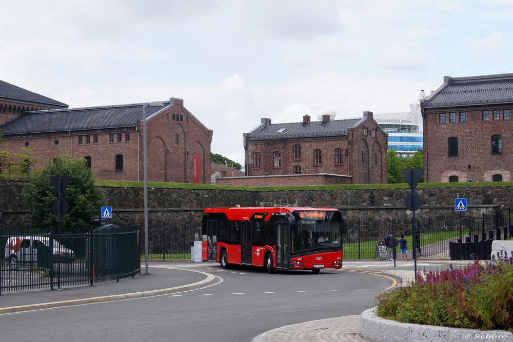 V norském Oslu je možné se potkat s 12m vozy New Urbino již od loňska.(foto: Sebastian Grellus)
