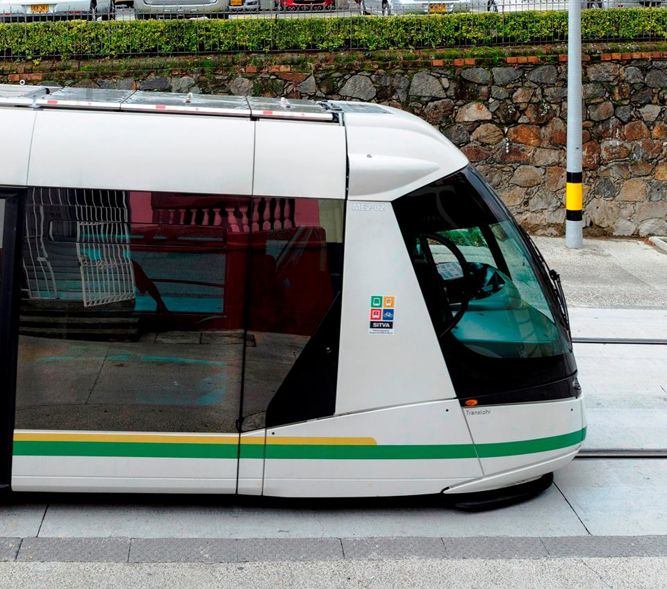 Elegantní vozidlo francouzské provenience. (foto: Empresa de Transporte Masivo del Valle de Aburrá Limitada)