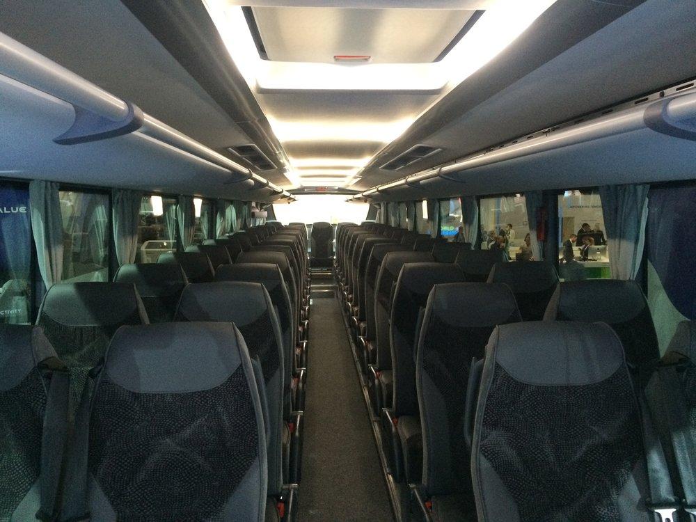 Pohled do interiéru vozu. (foto: Libor Hinčica)