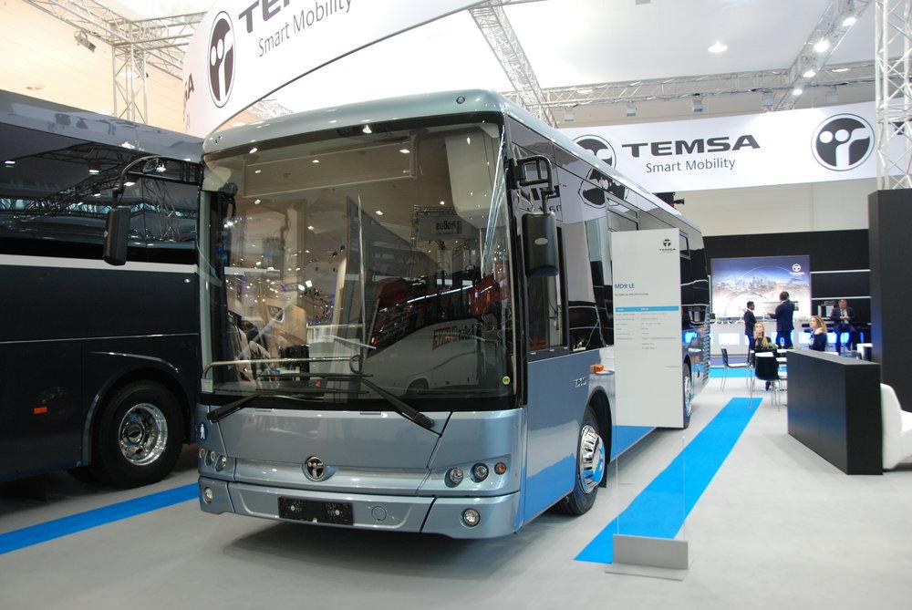 Temsa MD9LE je opět produktem turecké provenience. (foto: Libor Hinčica)