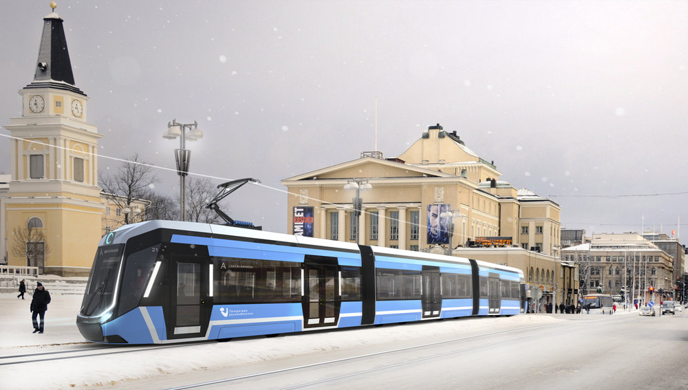 Nové tramvaje do města Tampere má dodat společnost Transtech YO, která je součástí skupiny Škoda Transportation. (zdroj: ratikkainfo.fi)