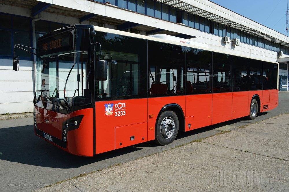 Jeden z 20 vozů IK-112M po dokončení ve výrobním závodě Ikarbusu. (foto: Autobusi.net)