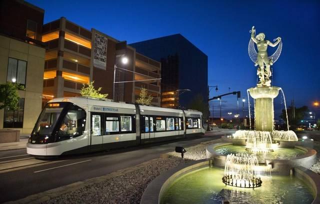 V Kansas City slouží dnes 4 tramvaje CAF Urbos 3. (zdroj: www.kansascity.com)