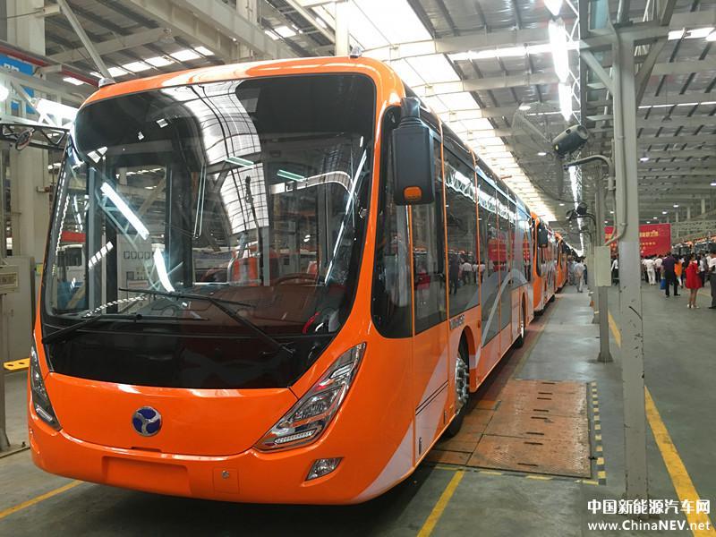 Trolejbusy pro marocké město Marrákéš. (zdroj: www.chinanev.net)