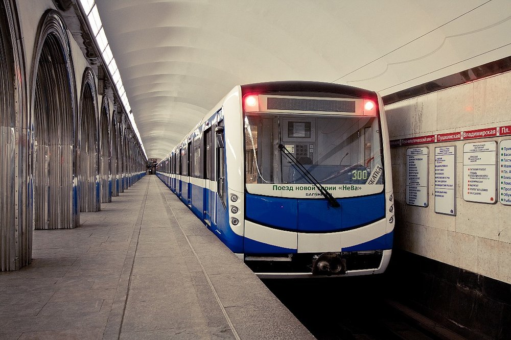 Metro NěVa v ruském Petrohradu. (foto: Škoda Transportation)