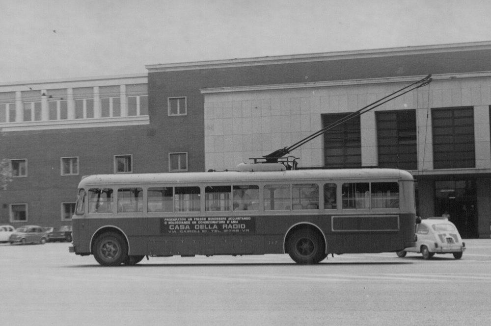 Trolejbusy na městské síti jezdily v letech 1937-75. Na meziměstských tratích je bylo možné potkat až do roku 1981. (zdroj: Wikipedia.org)