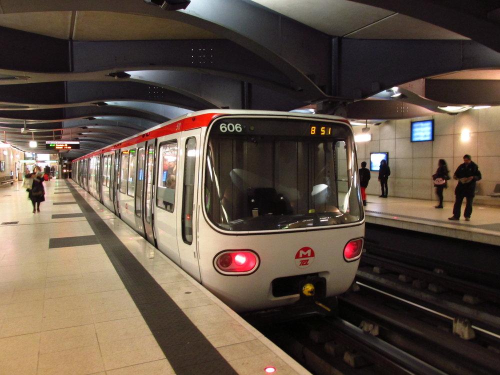 Současná podoba jednotek metra na trase B v Lyonu. (foto: Ing. Filip Jiřík)