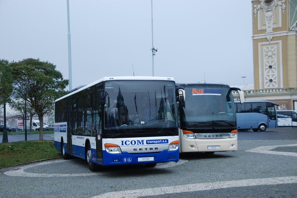 Low entry model od Setry se na Czechbusu prezentoval poprvé v roce 2014. O rok později byl vystaven na venkovní ploše jeden z autobusů z přelomové zakázky pro ICOM transport. Ten je momentálně největším provozovatelem těchto vozidel v Evropě. (foto: Libor Hinčica)
