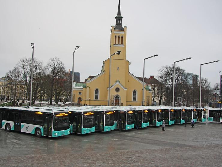 Tallinn již pořídil v průběhu pěti let 145 autobusů MAN. V roce 2017 se k nim přidá dalších 30 vozů. (foto: MAN Truck & Bus)