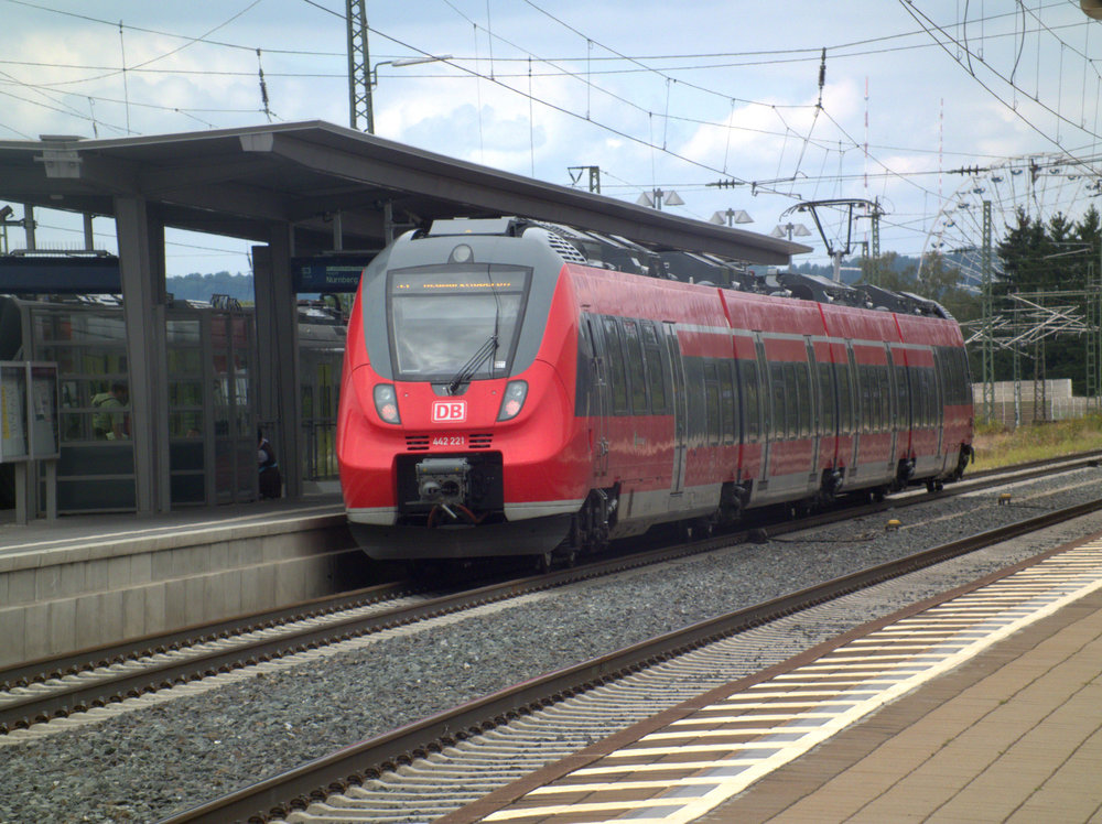 Jednotka Talent 2 od Bombardieru na lince norimberského S-Bahnu. (zdroj: Wikipedia.de)