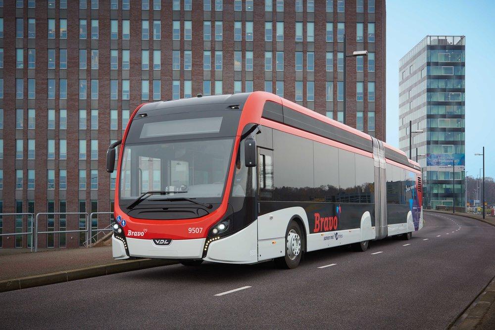 Elektrobus dopravce Hermes. (foto: VDL Bus & Coach)