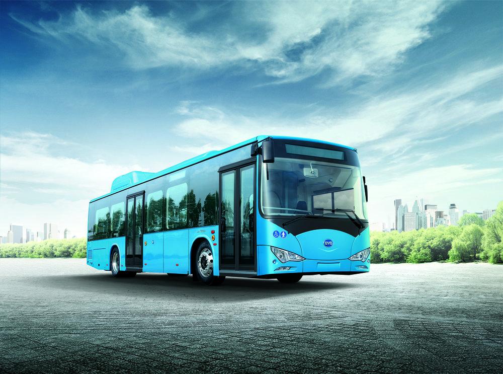Elektrobusy do Haarlemu dodá čínský výrobce BYD. (foto: BYD)