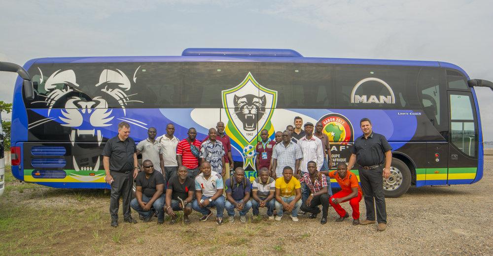Řidiči autobusů MAN Lion's Coach prošli speciálním školením. (foto: MAN Truck & Bus)