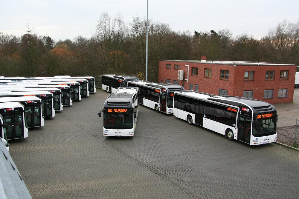 V posledních letech vsází Wolfsburg hlavně na autobusy značky MAN. (foto: WVG AG)