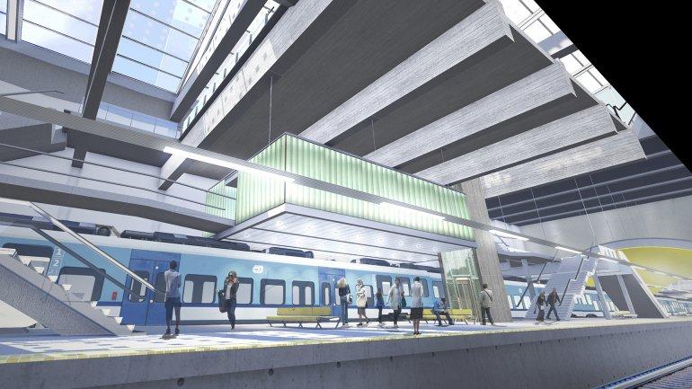 České dráhy jako dopravce na síti buenosaireských příměstských vlaků. ( zdroj: Ministerio de Transporte de la República Argentina)