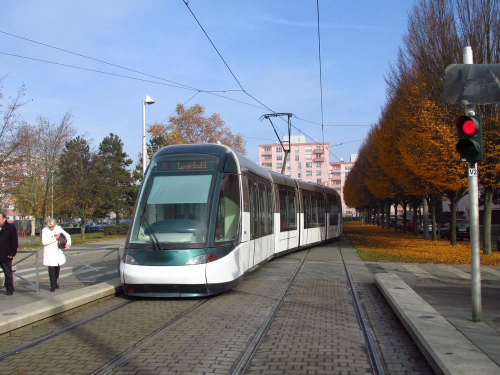 Celkem 63 tramvají Alstom Citadis bude brzy ve francouzském Štrasburku. (foto: Ing. Filip Jiřík)