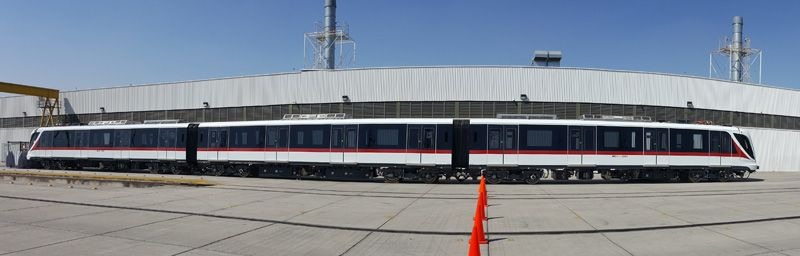 Foto první soupravy Alstom v Guadalajaře. (foto: SITEUR)