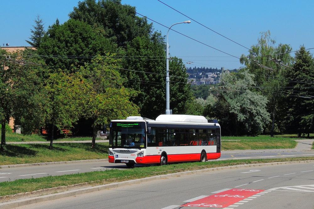 Brno dostane dotaci na 60 plynových vozů. (foto: Vojtěch Zdražil)