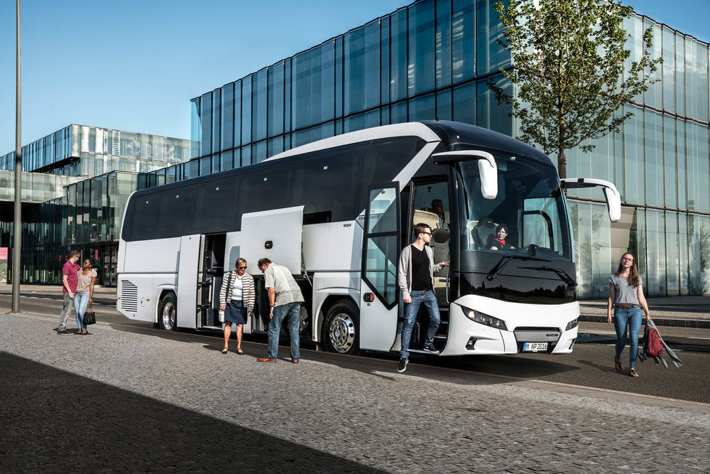 Nový NEOPLAN Tourliner. (foto: MAN Truck & Bus)