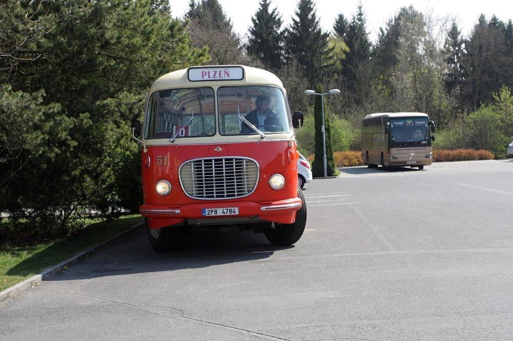 Ke konferenci patří tradičně také historická vozidla PMDP, kterými se mohou účastníci v rámci doprovodného programu projet, případně si je alespoň prohlédnout. (foto: PMDP)