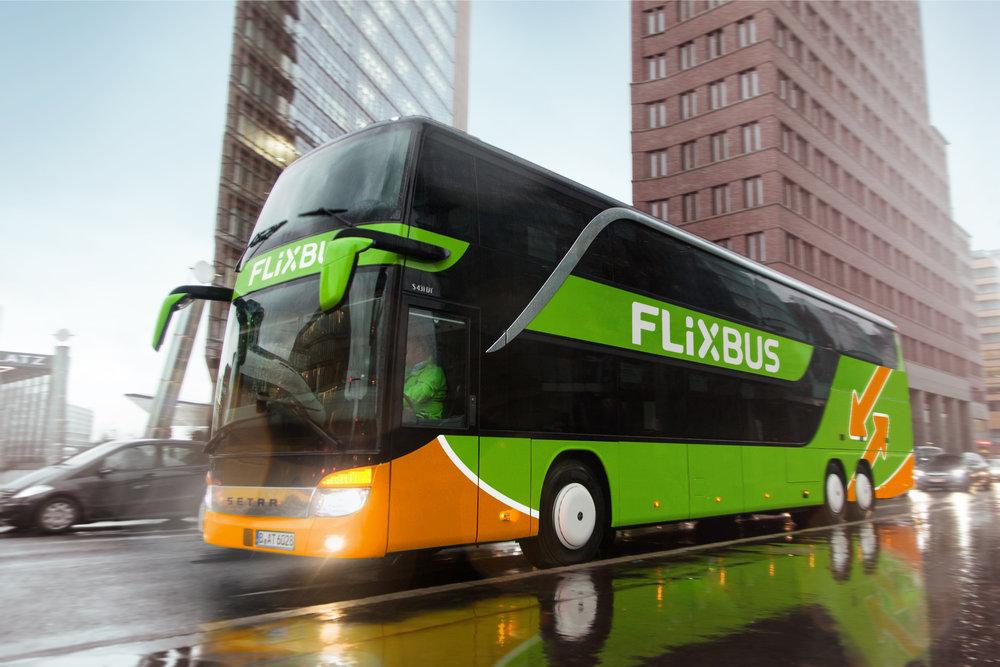 Setra S431DT dopravce FlixBus. (foto: FlixBus)