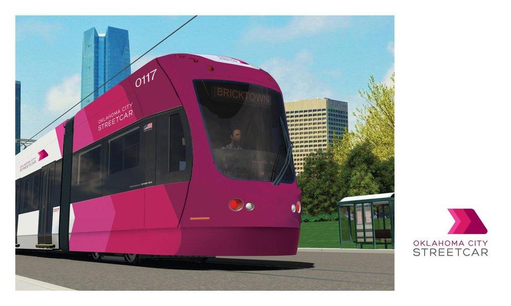 V Okhlahomě budou sloužit nové tramvaje Liberty. Původně zde měly jezdit české vozy Trio od Inekonu. (zdroj: okc.gov)