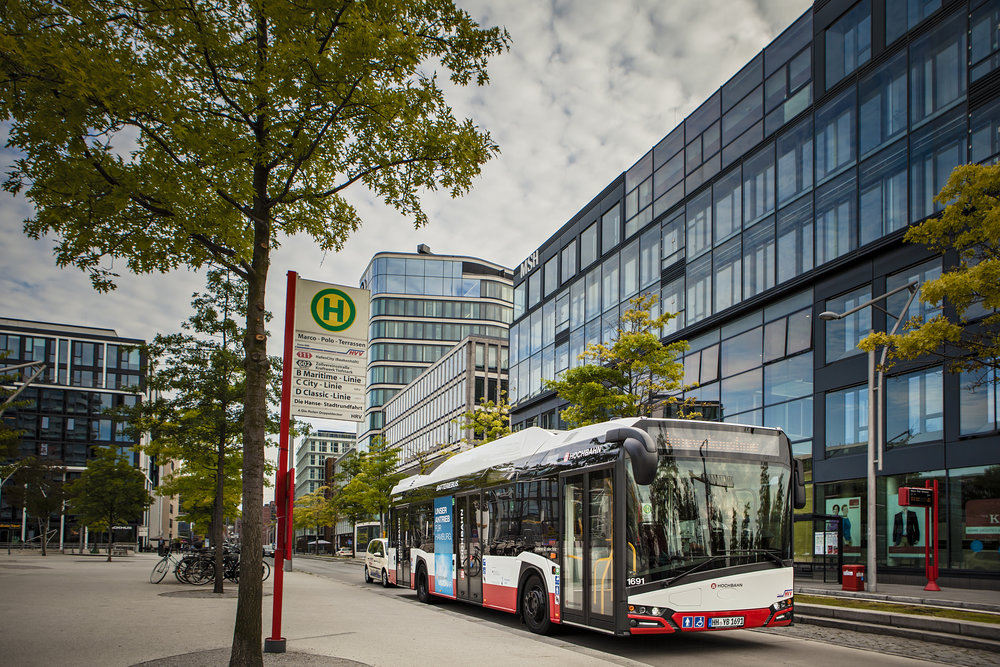 Nové Urbino 12 electric ve službách hamburského dopravce Hochbahn. (foto: Solaris Bus & Coach)