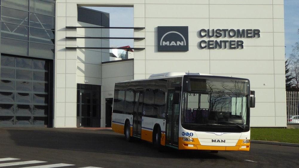 MAN Lion's City z výrobního závodu ve Starachowicích. (foto: MAN Truck & Bus)