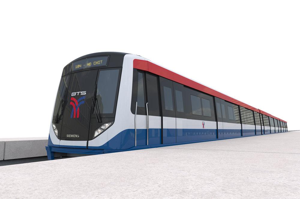 Metro pro Bangkok bude vyrábět Siemens ve spolupráci s tureckým producentem Bozankaya. Brzdové systémy dodá DAKO-CZ. (foto: Siemens)