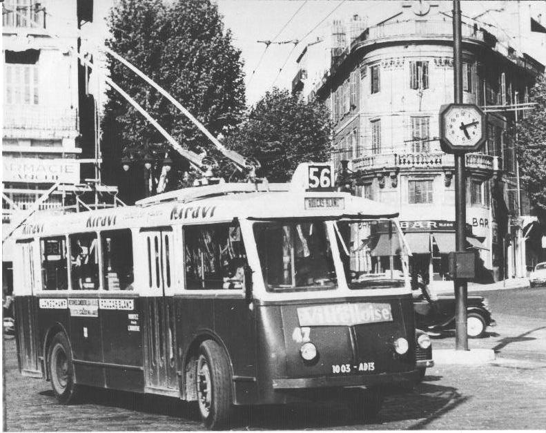 VETRA CB 60 ev. č 47 na marseillské lince 56 Longchamp –Roucas Blanc.(foto: Rolland Martin)