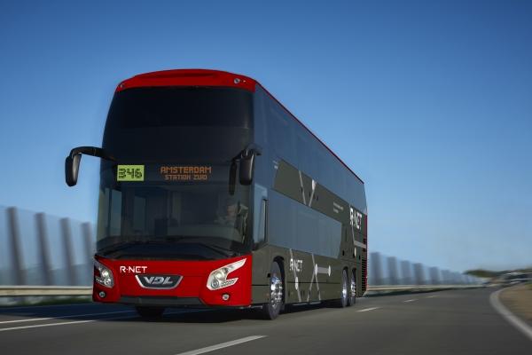 Vizualizace patrového autobusu VDL Futura FDD2 ve verzi pro veřejnou dopravu. (zdroj: VDL Bus & Coach)