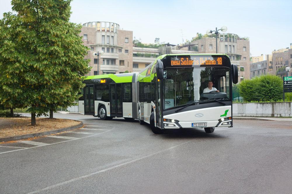 Nové Urbino 18. (foto: Solaris Bus & Coach)