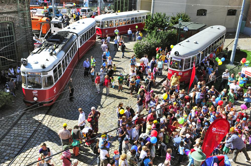 Tramwaytag ve Vídni. (foto: Wiener Linien)