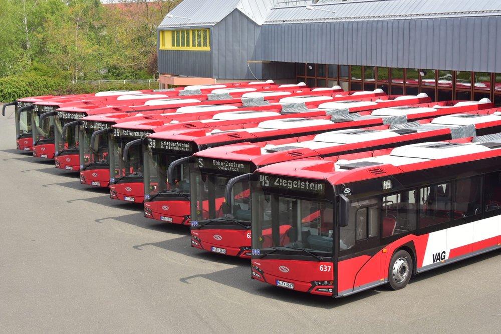 Celkem slouží ve městě 20 autobusů polské značky Solaris. (foto: Solaris Bus & Coach)