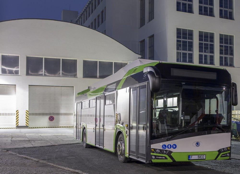 Elektrobusy Škoda Perun 26BB HE dodala Škoda Electric také do slezského Třince. (foto: Škoda Electric)