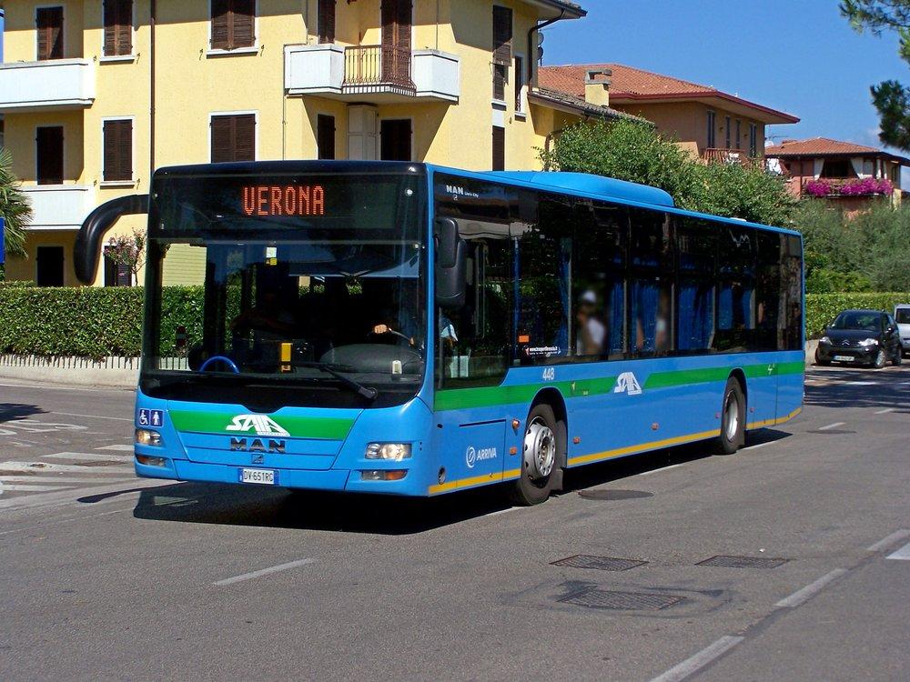 Autobus MAN Lion's City ve službách italské Arrivy. (foto: MAN Truck & Bus)