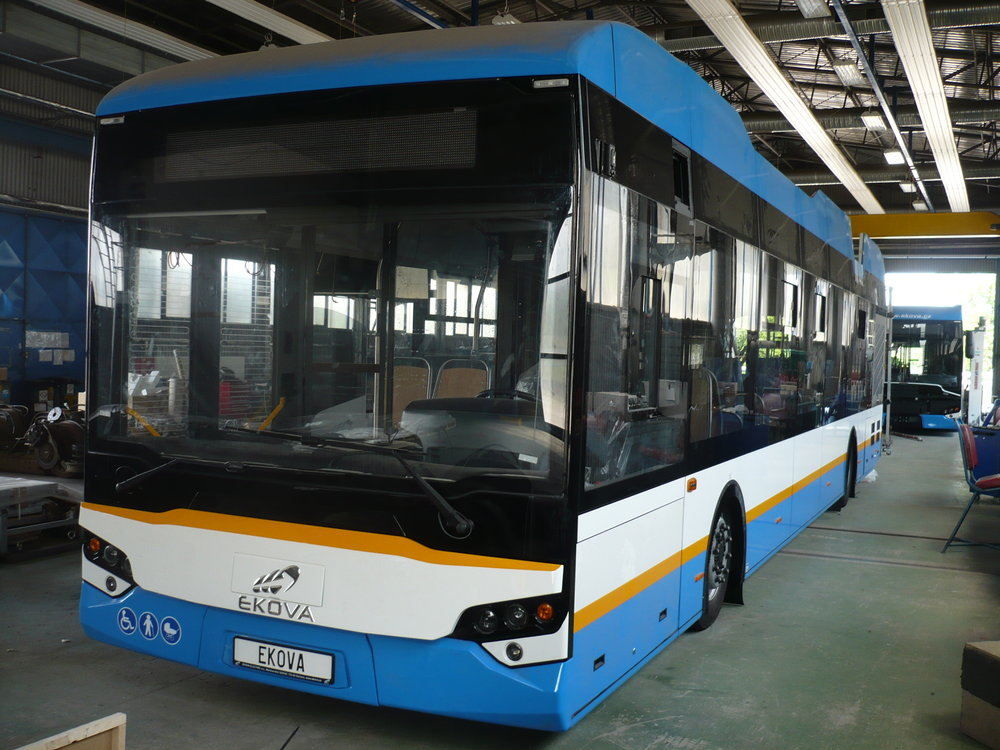 Nový český trolejbus Ekova Electron 12T. (foto: Ekova Electric)