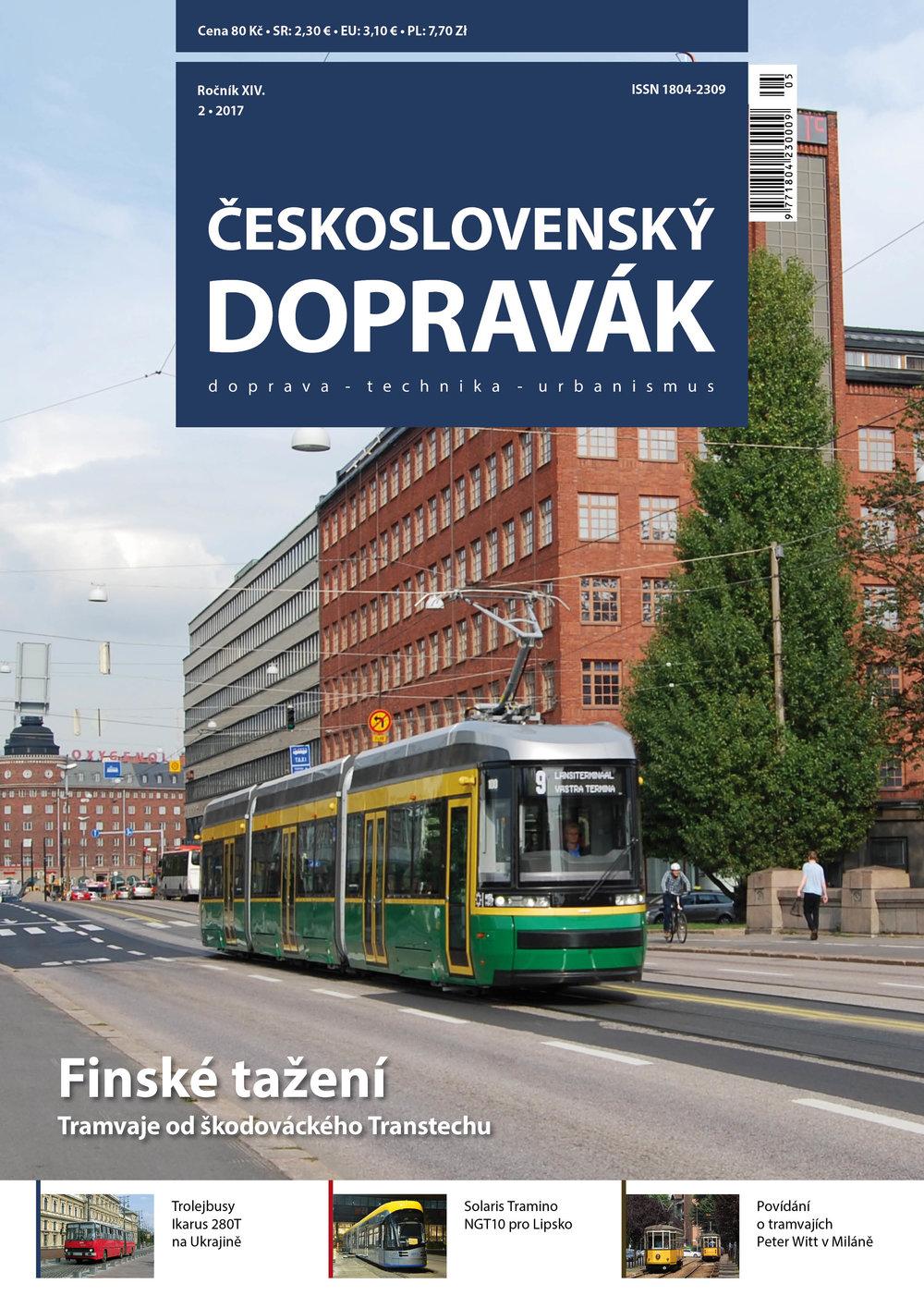 Titulní strana čísla 2/2017.