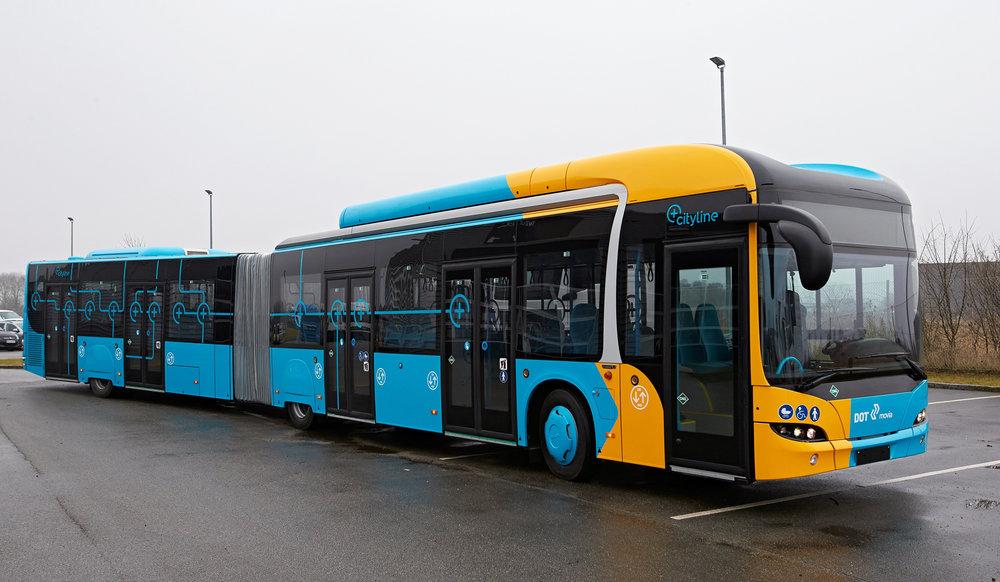 Takto upravené autobusy MAN Lion's City jezdí v dánské Kodani. (foto: MAN Truck & Bus)