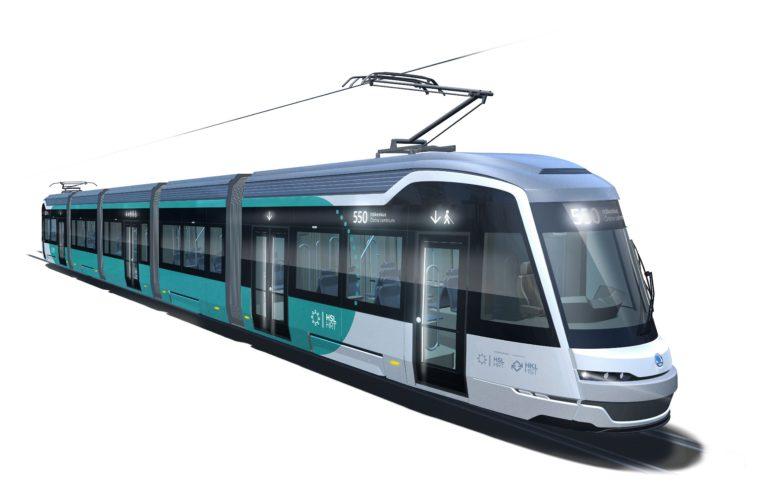 Takto by měly tramvaje pro linku do Espoo vypadat. (foto: HKL)