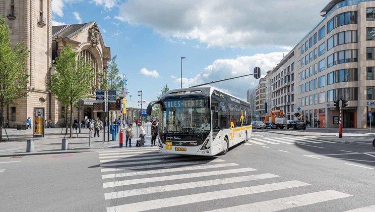 Elektrobus dopravce Sales-Lentz. (foto: Volvo Buses)