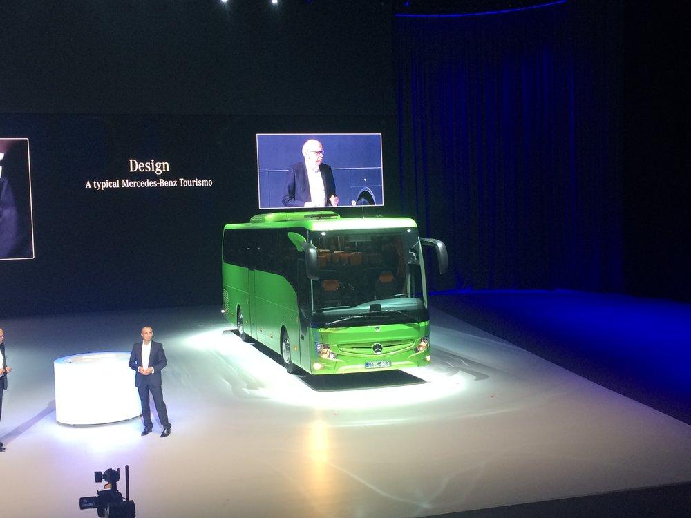 Z prezentace nového Tourisma v Bruselu. (foto: Libor Hinčica)