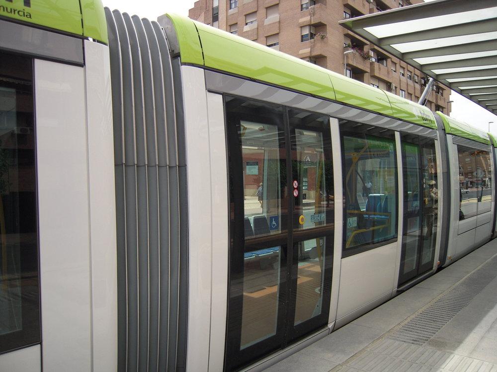 Murcijská trať v okolí centra města na snímcích z roku 2011