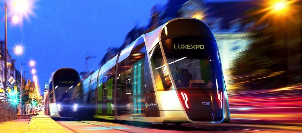 Tramvaje do Lucemburku dodává CAF. (zdroj: LUXTRAM)