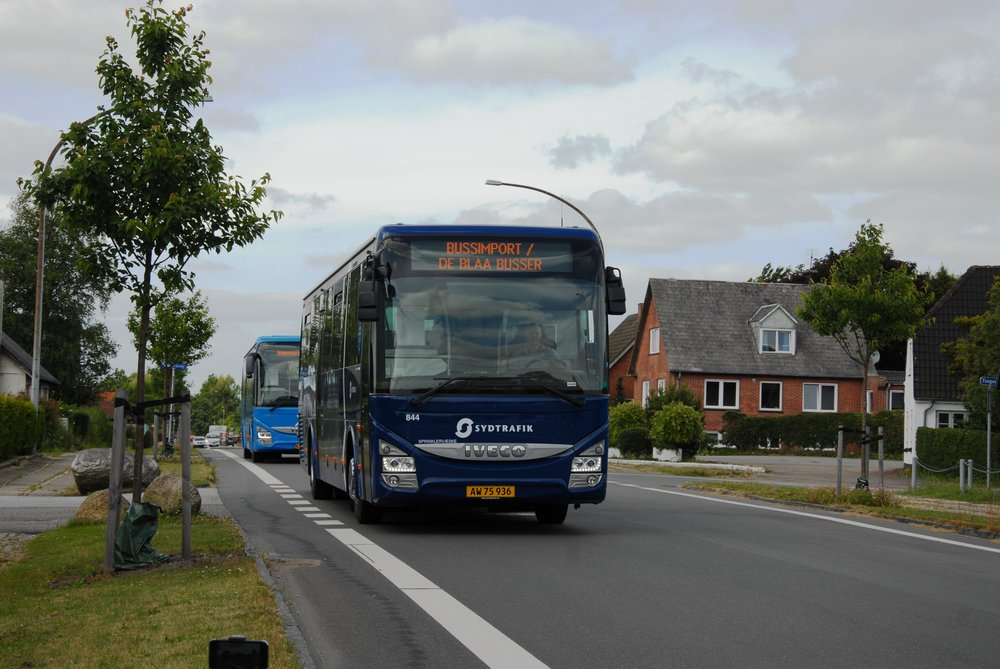 Iveco Crossway drží v Dánsku 64% podíl mezi linkovými autobusy. (foto: Iveco Bus)